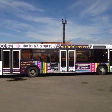 автобус принти