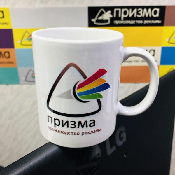 Печать логотипа или фото на кружке